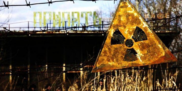 Helicopter flight to Chernobyl and Pripyat. Helicopter excursion.