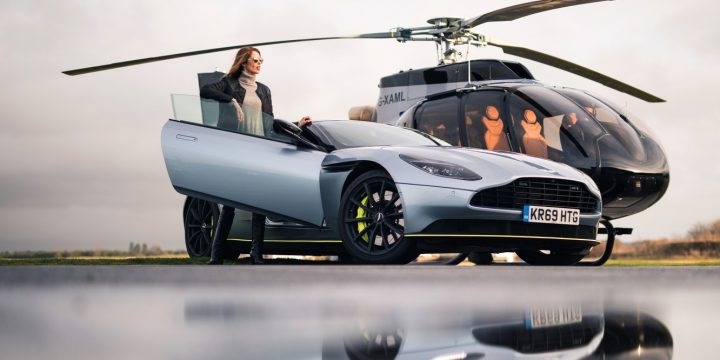Aston Martin introduced its first branded helicopter