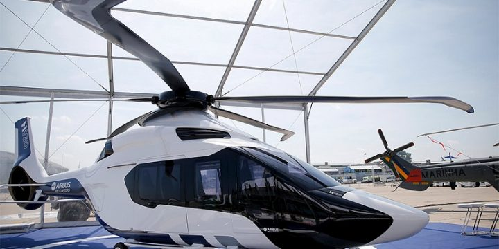 Airbus corporate helicopter H160
