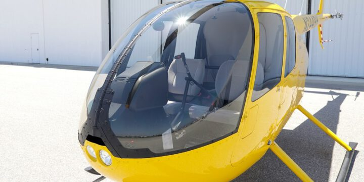 Impact resistant helicopter windshields
