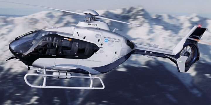Helicopter Eurocopter 135
